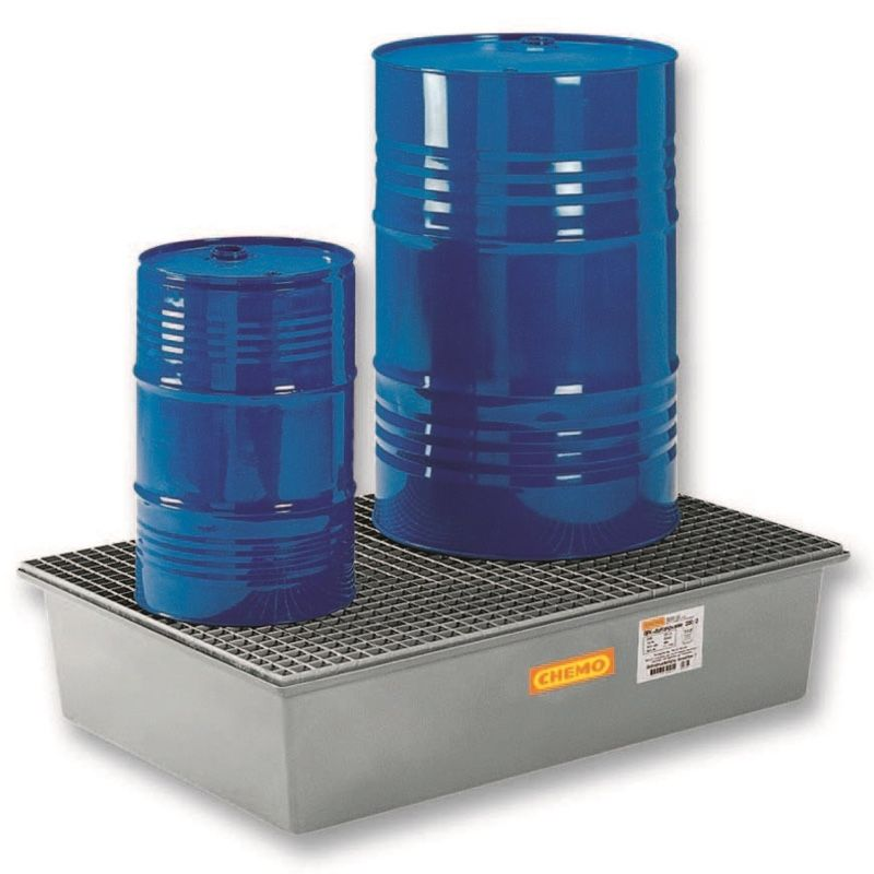 Vasche e strutture di raccolta per fusti e cisterne for Vasche per laghetti in vetroresina